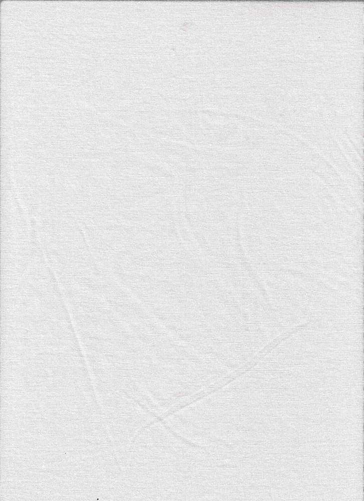 JERSEY-6076/WHITE #02 / Rayon/Span Jersey,