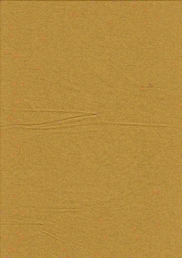 JERSEY-6076/MUSTARD #60 / Rayon/Span Jersey,