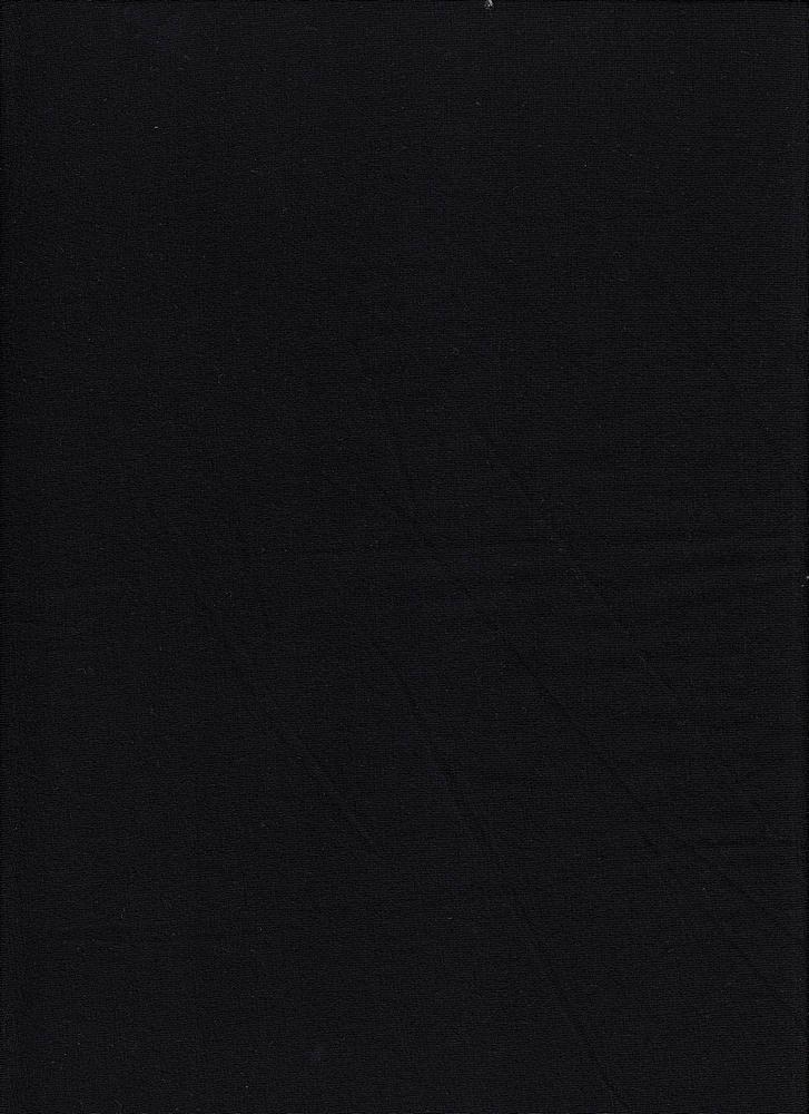 JERSEY-607-200/BLACK #01 / Rayon Spandex Jersey,