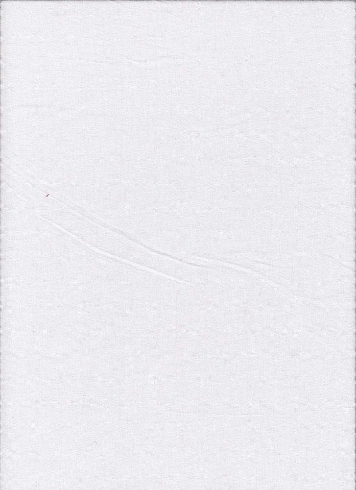 JERSEY-607-180/WHITE 180 / Rayon/Spandex Jersey,