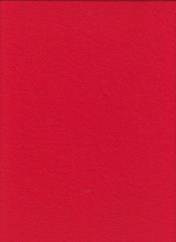 JERSEY-6076/FIRE RED-MC / Rayon/Span Jersey,