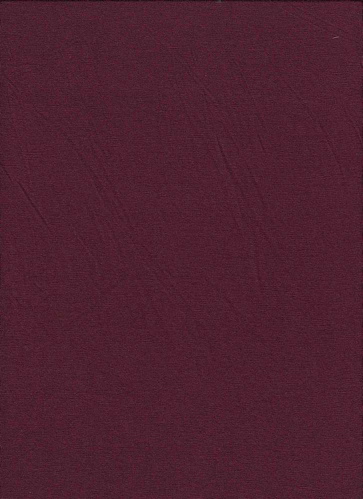JERSEY-607-180/BURGUNDY TRUE / Rayon/Spandex Jersey,
