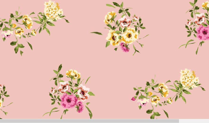 H191137-792BR-I/9MAU/MAG/MUS / BRUSHED DTY W/Ditsy Flower Design,