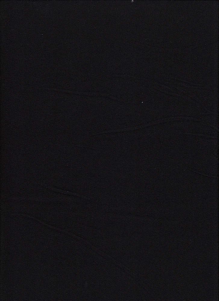 JERSEY-607-180/BLACK #01 / Rayon/Spandex Jersey,